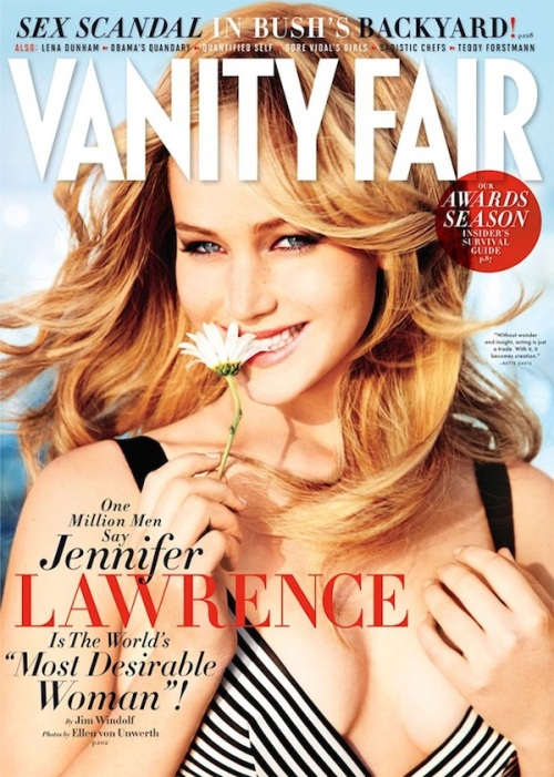 Jennifer Lawrence Vanity Fair cover February 2013