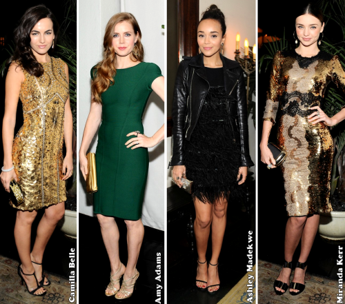 W Magazine Celebrate The Golden Globes 2