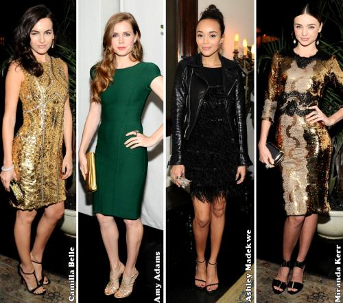W Magazine Celebrate The Golden Globes 2